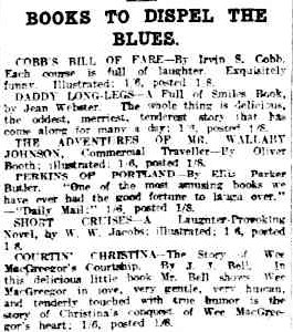 BookstoDispeltheBlues(TheAdvertiser,Adelaide,SA,31July1915).JPG