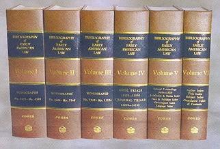 Cohen,M.L.,BibliographyOfEarlyAmericanLaw6volset.jpg
