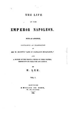 Lee,LifeoftheEmperorNapoleon(DeBehr,1835).JPG