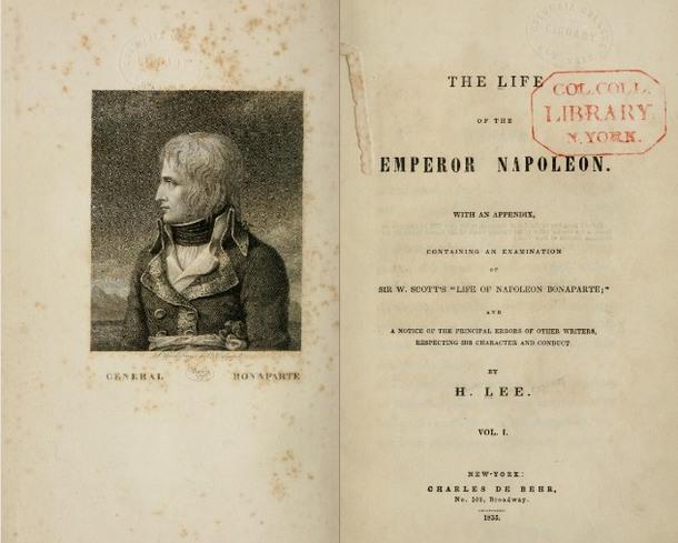 Lee,LifeoftheEmperorNapoleon (DeBehr,1835).JPG