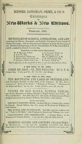 VisittoRemarkablePlaces,WHowitt,1840Esecondedition,advertisement.jpg