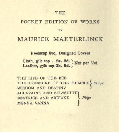 PocketEditionofWorksbyMauriceMaeterlinck(GeorgeAllen,1910).jpg