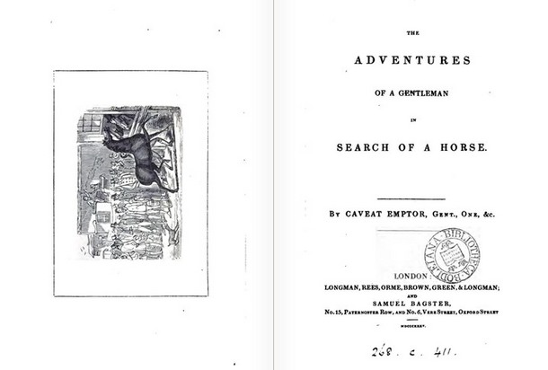TheAdventuresofaGentlemaninSearchofaHorse(London1835).JPG